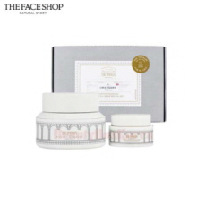 THE FACE SHOP The Therapy Moisture Blending Formula Cream Special Set 2items [William Edwards Edition]